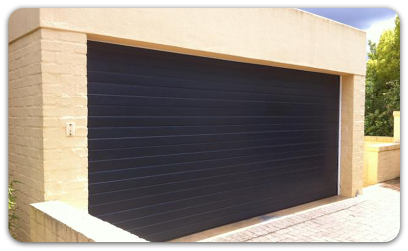 Aladdin Colour Steel Sectional Garage Doors