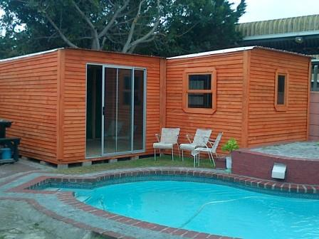 3m x 9m L-Shaped with Sliding Door