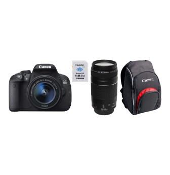 CANON DSLR Twin Lens Camera Bundle
