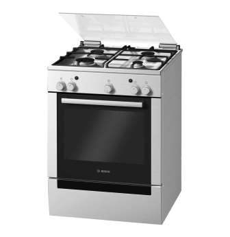 BOSCH 600mm 4 Burner Gas Stove Gas Oven