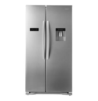 HISENSE 730l Side-by-Side Fridge Freezer with Water Dispenser