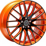 Speedster Orange Anodized Face Side